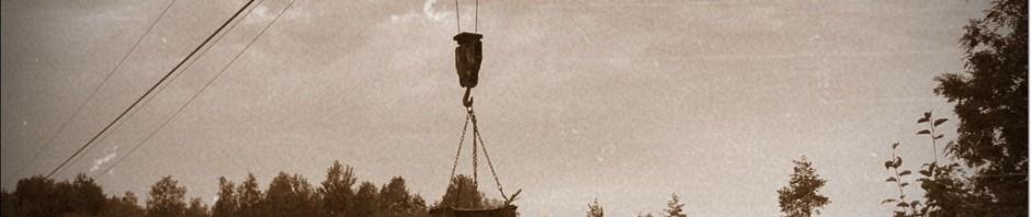 Dnes už historie Švihovských lomů...